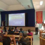 Bệnh viện huyện Củ Chi thực hiện sinh hoạt CLB bệnh nhân đái tháo đường!