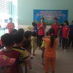 Giao lưu và tặng quà cho bệnh nhi tại Bệnh viện huyện Củ Chi