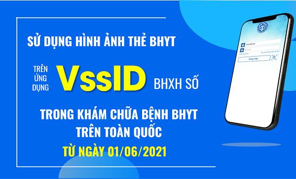 Chính thức sử dụng hình thẻ BHYT trên ứng dụng VssID-BHXH số trong khám chữa bệnh BHYT từ ngày 01/6/2021